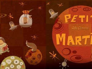 The Martian Picture Book – Children books