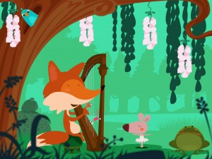 The Fox Harpist