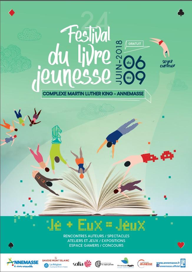 Festival du livre Jeunesse d'Annemasse 2018